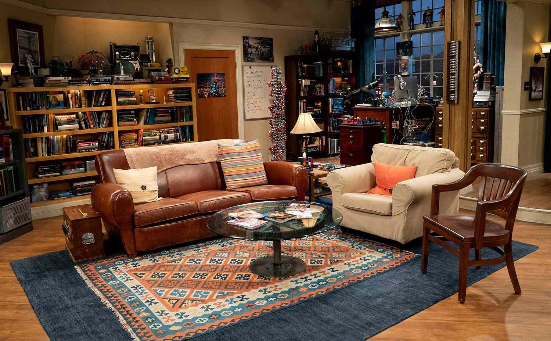 Leonard and Sheldon's apartment on The Big Bang Theory