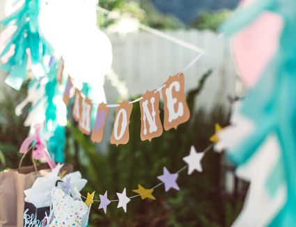 backyard children's birthday party