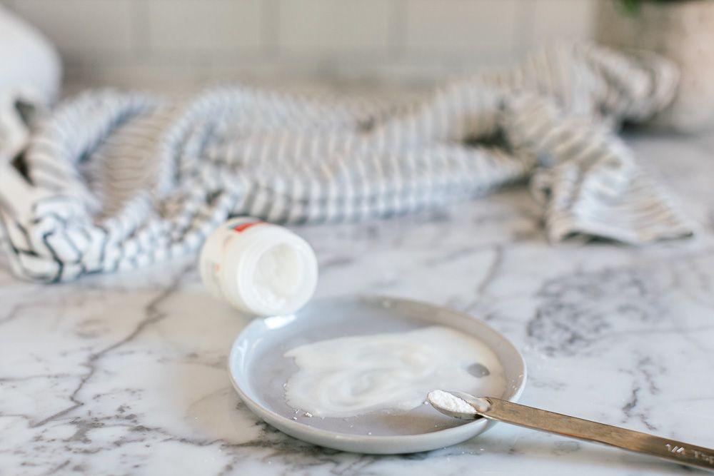 bowl of cream of tartar