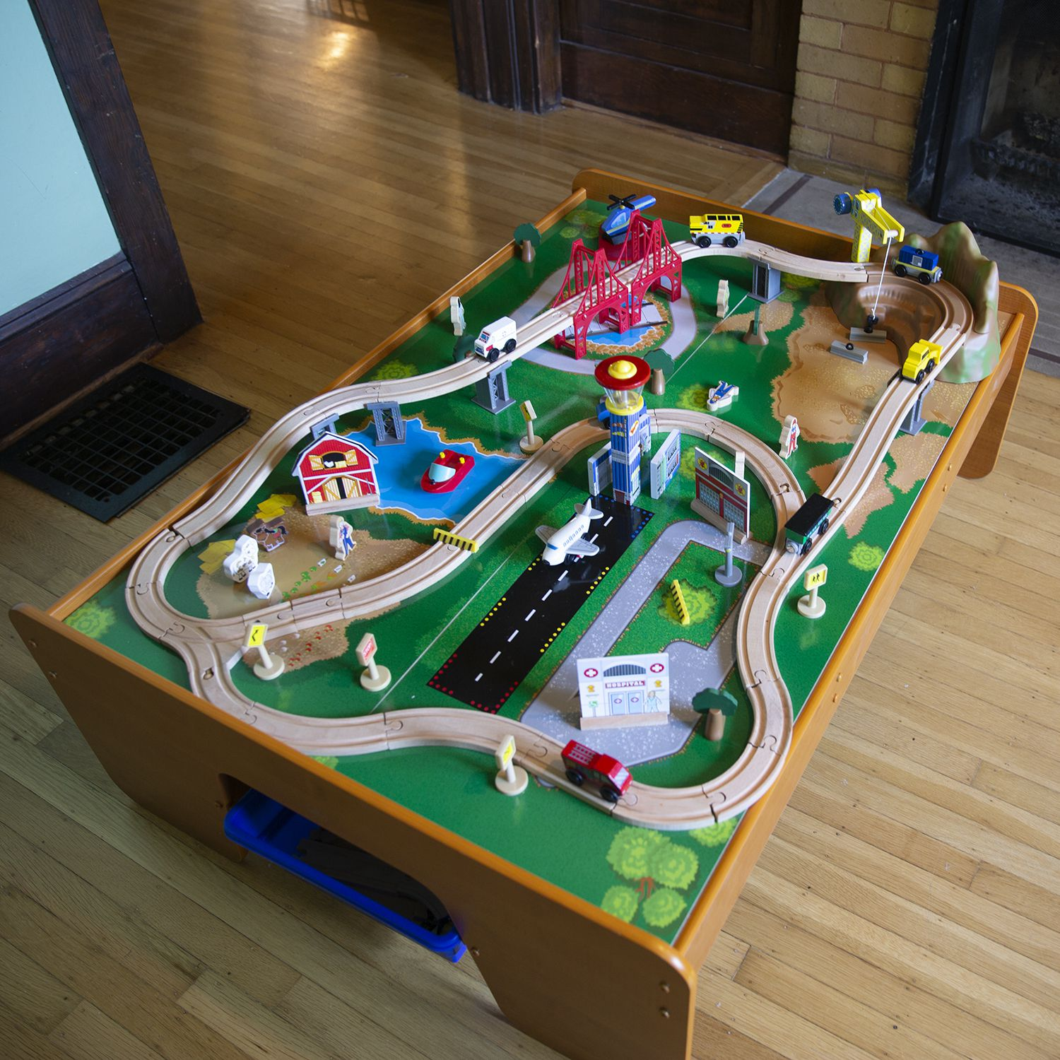 KidKraft Ride Around Town Train Table Review: Loads of Fun