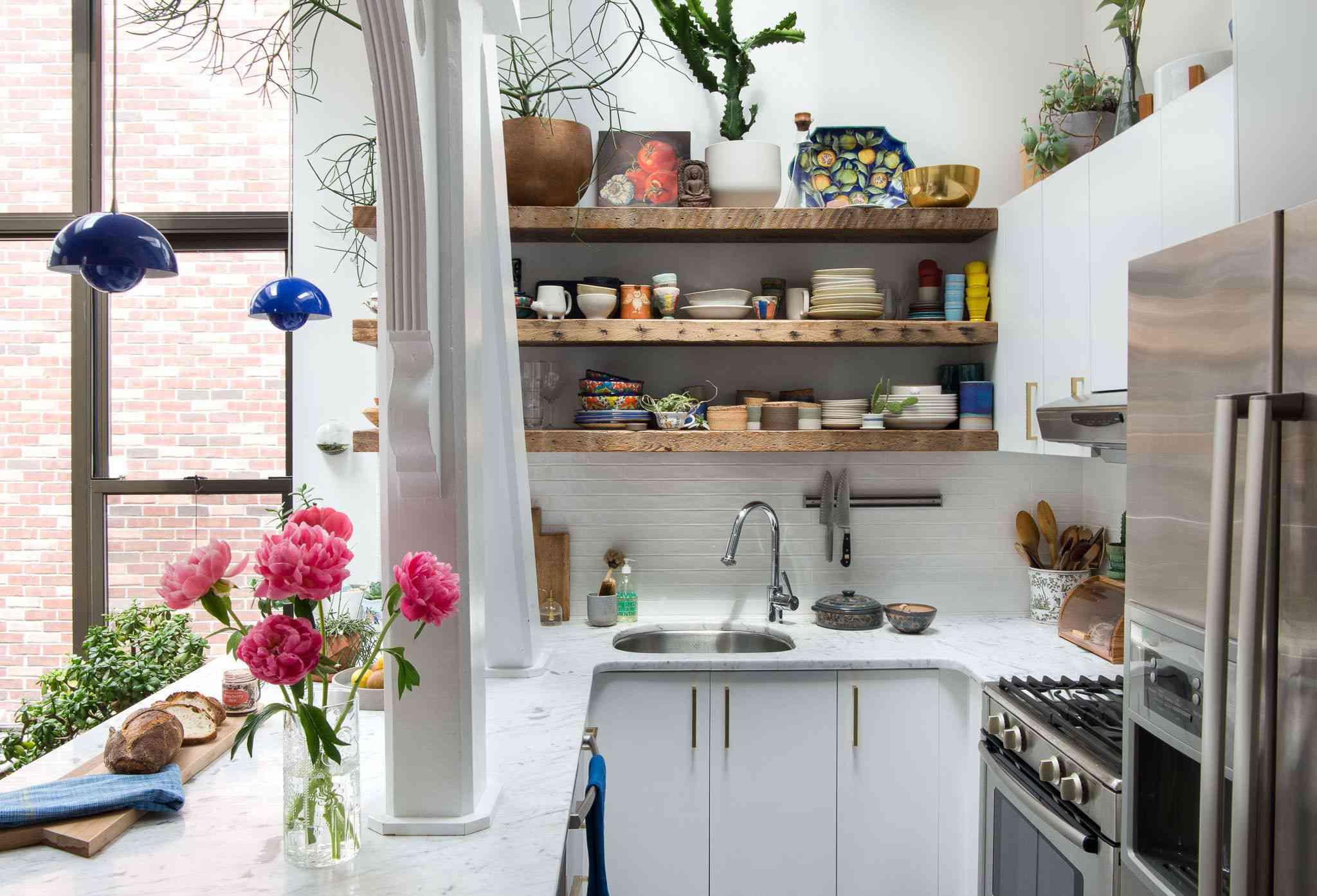 cocina rústica y bonita de Brooklyn