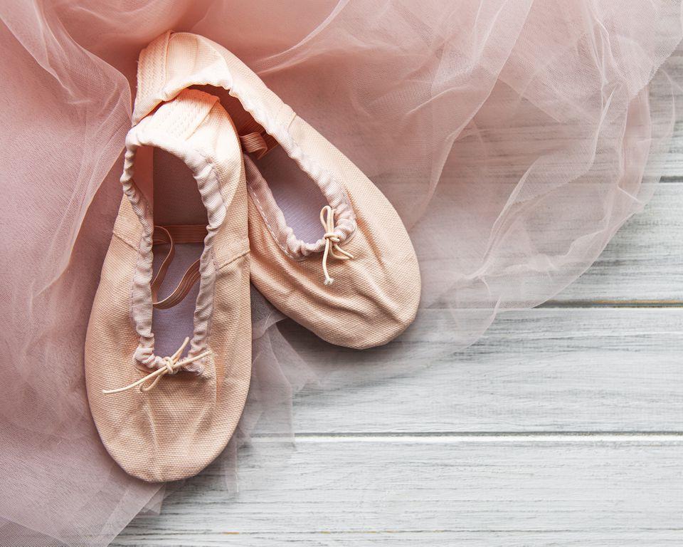 Zapatillas de ballet para niños
