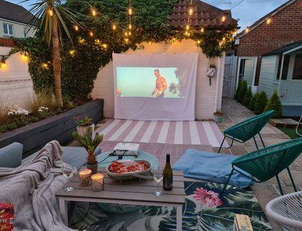 ohsokel outdoor movie night