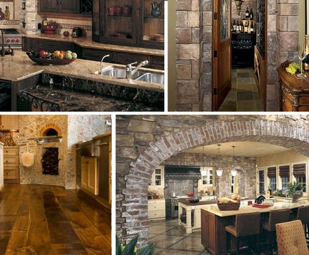 Sensational How To Give Your Kitchen A Tuscan Style Home Interior And Landscaping Oversignezvosmurscom