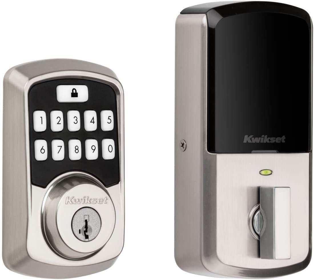 Kwikset 99420-001 Aura Bluetooth Programmable Keypad Door Lock