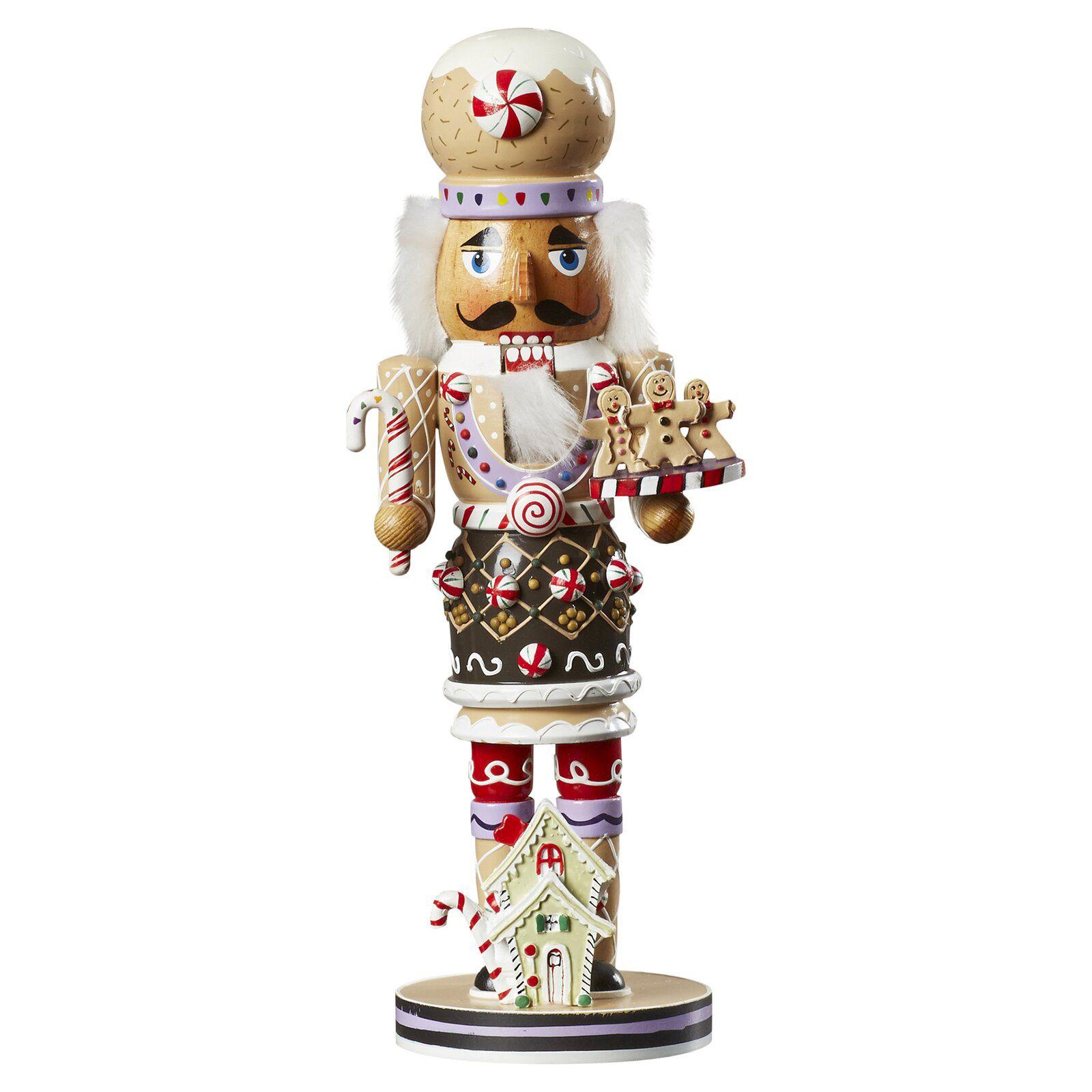 Kurt S. Adler 16-Inch Wooden Gingerbread Christmas Nutcracker