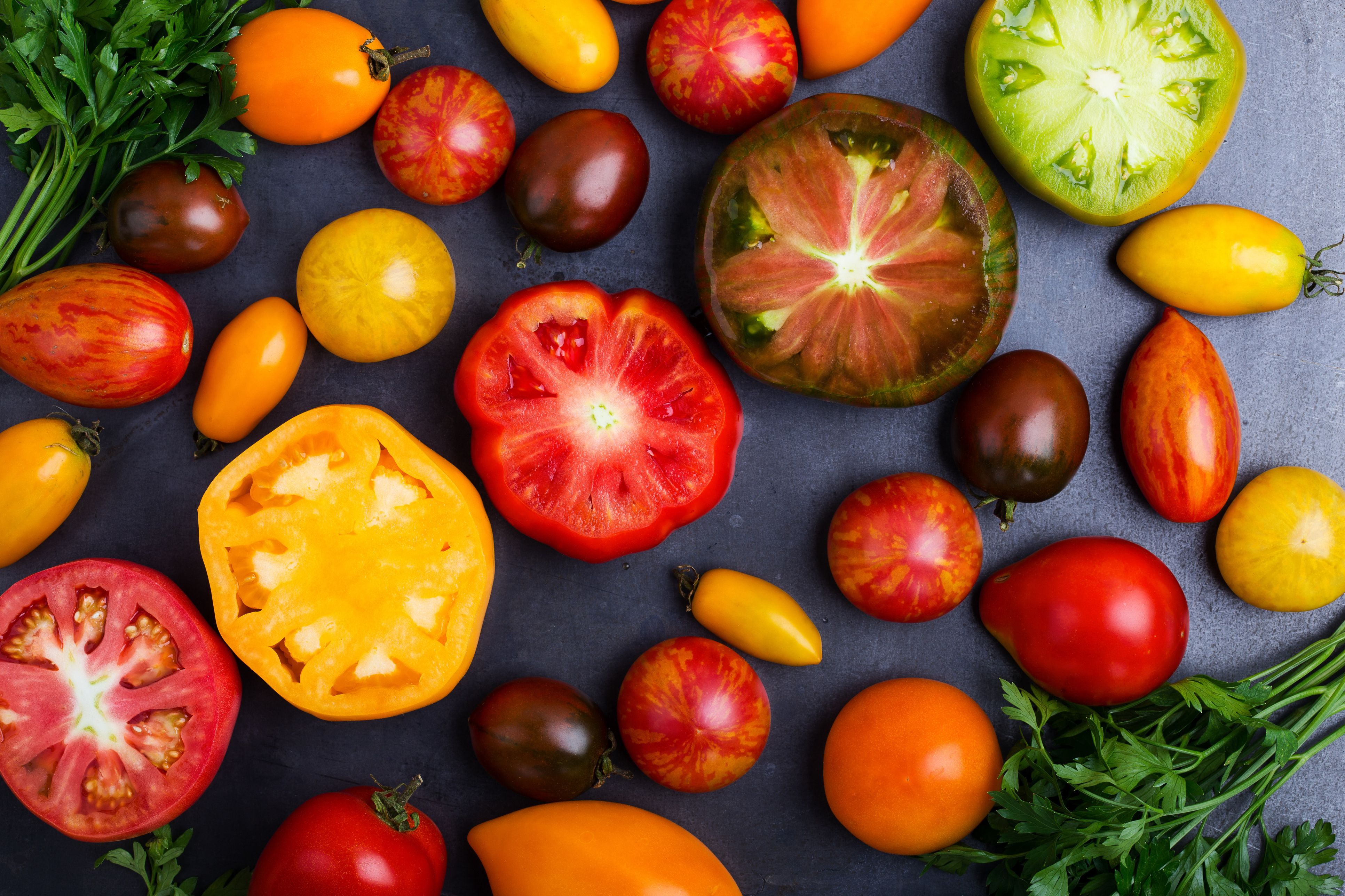 25 Bi Colored And Striped Heirloom Tomato Varieties