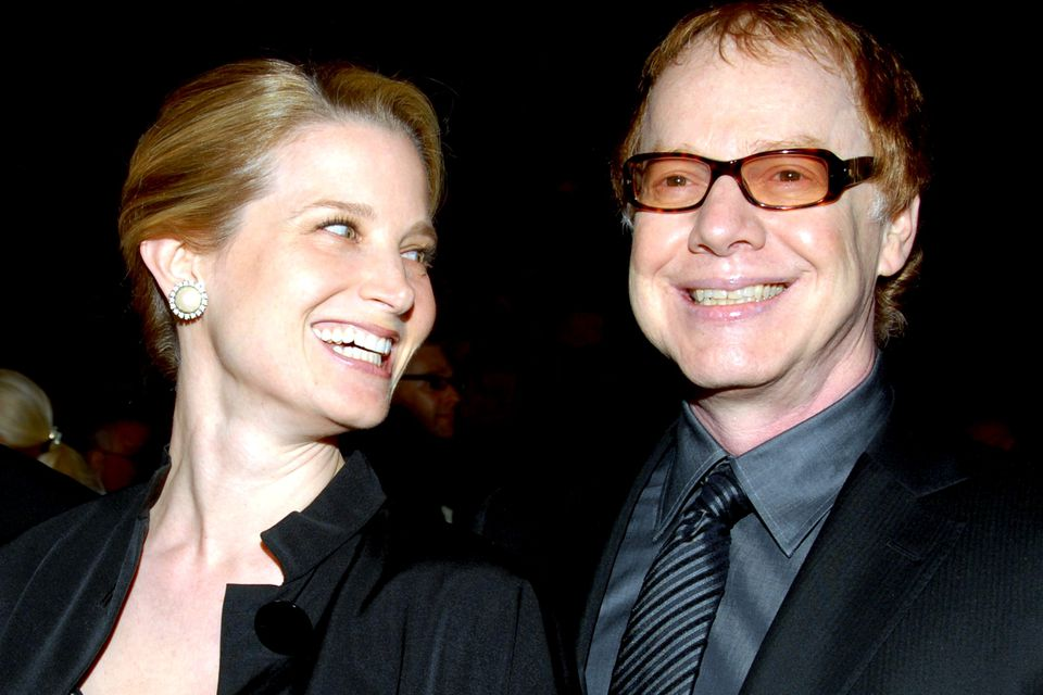 Bridget Fonda and Danny Elfman in 2007