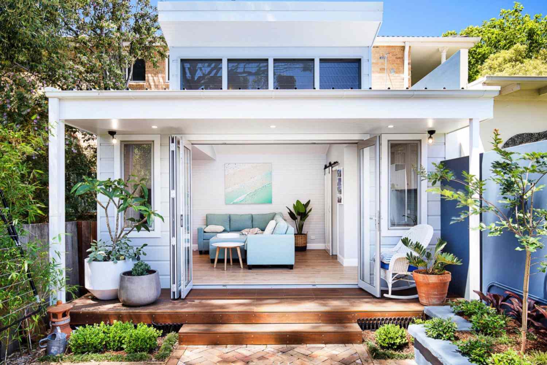 casa de huéspedes con playa