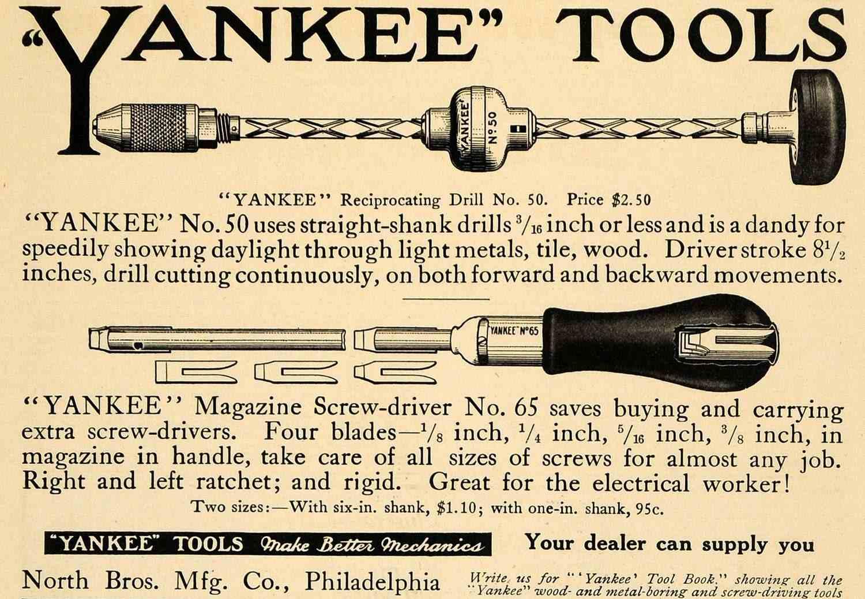 Yankee driver tool
