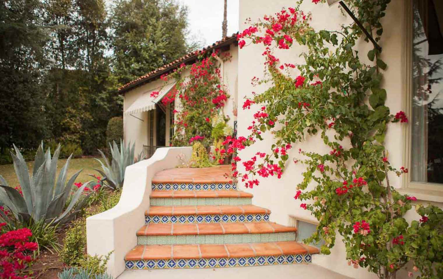 saltillo and tile entry