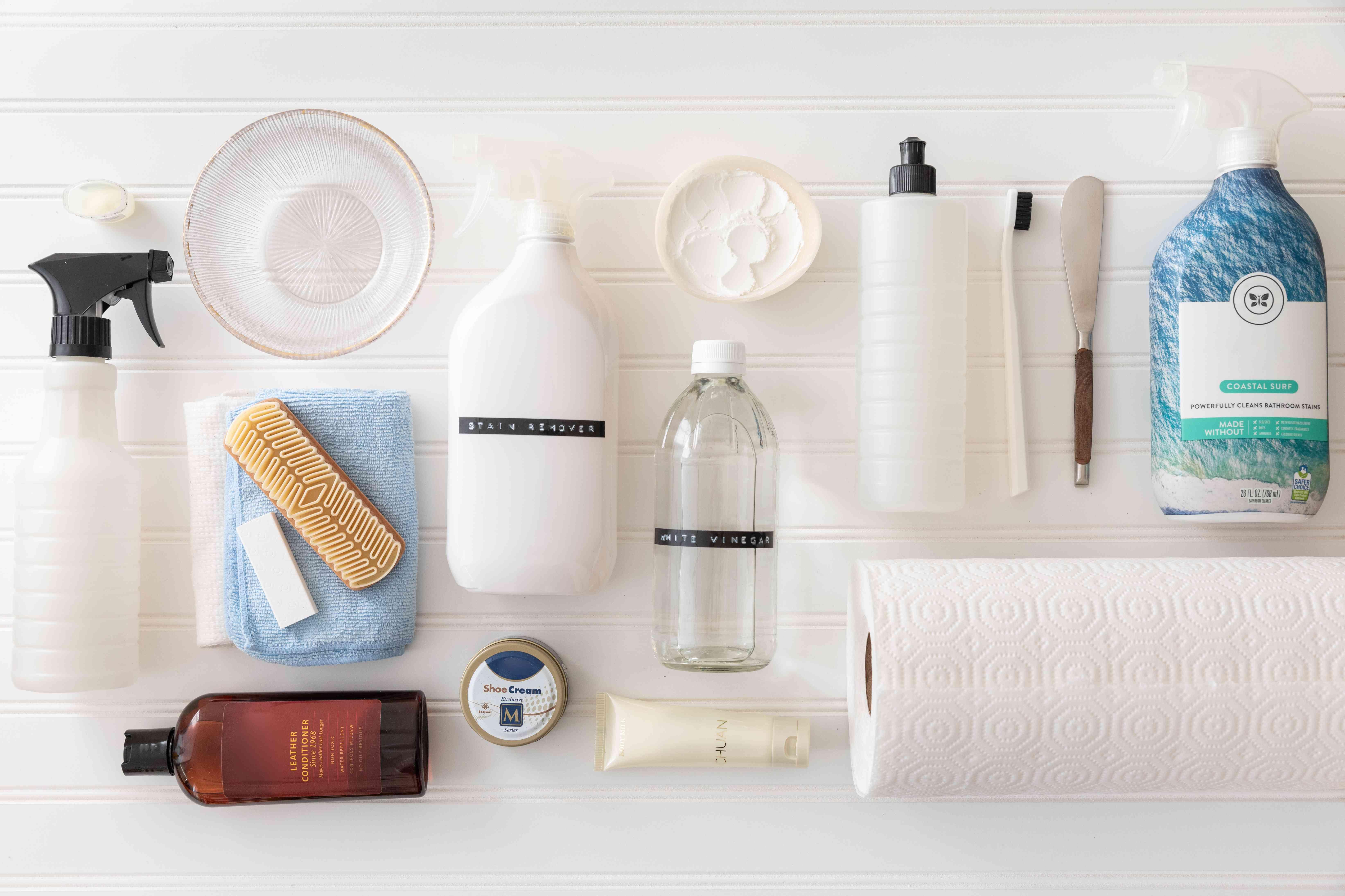 materials for cleaning birkenstocks