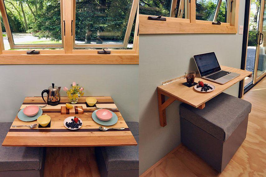 Folding-Wall-Mounted-Kitchen-Table