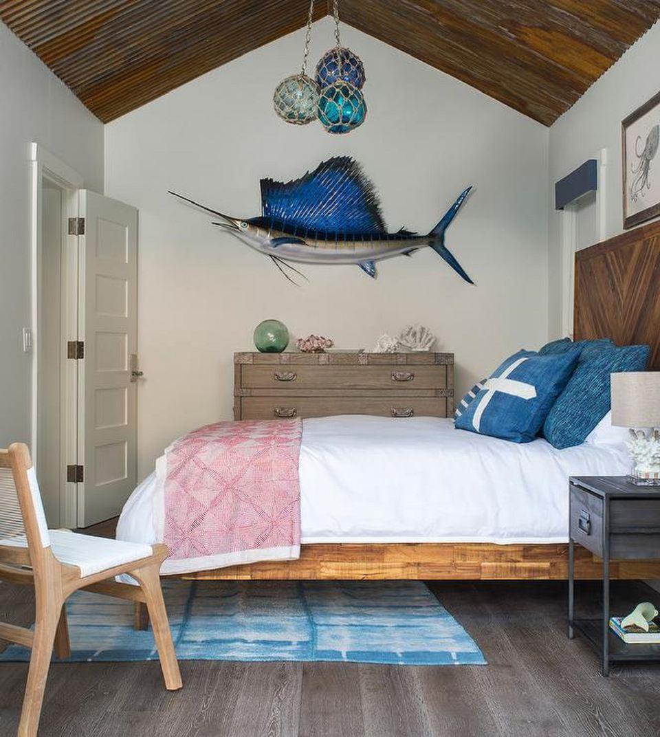 20 Gorgeous Beach House Decor Ideas: 50 Gorgeous Beach Bedroom Decor Ideas