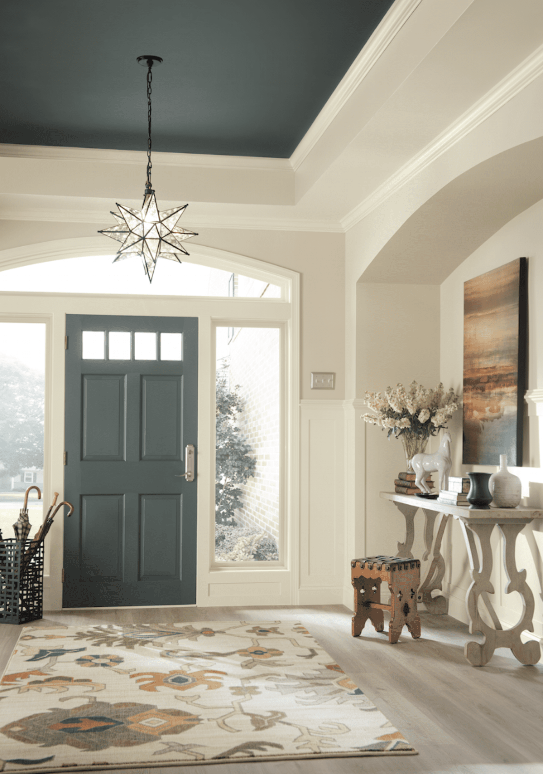Wall Colour Inspiration: Dramatic Paint Inspiration: Sherwin-Williams Nouveau
