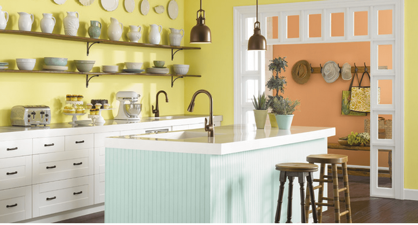 Sherwin-Williams Chartreuse   7 Delicious Kitchen Colors