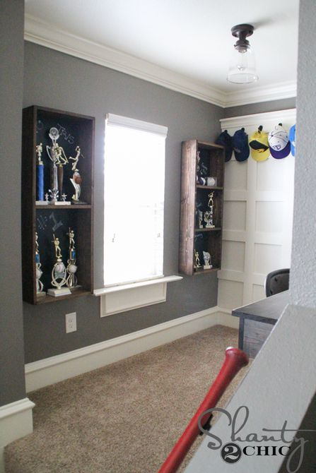 Chalkboard Trophy Case