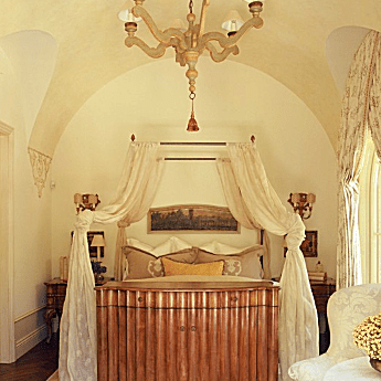 Mediterranean Style Bedroom by Wendi Young Design.