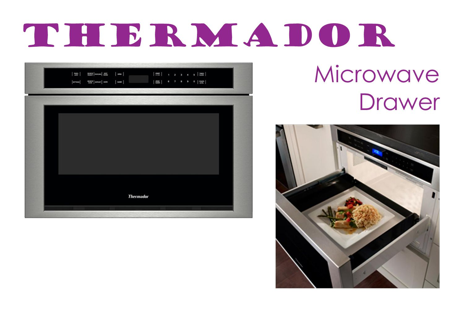 Thermador Microwave Drawer