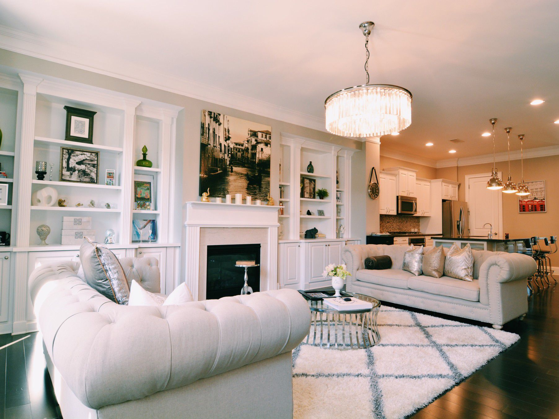 2 Accent Chairs And A Tv And Sectional.10 Simple Decorating Rules For Arranging Furniture