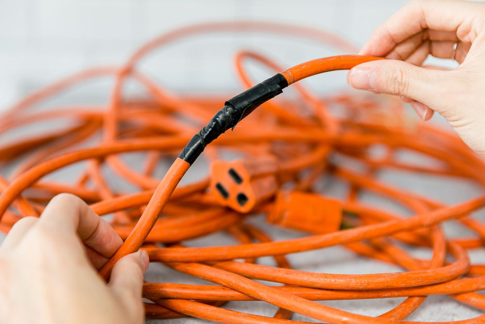 unsafe extension cord