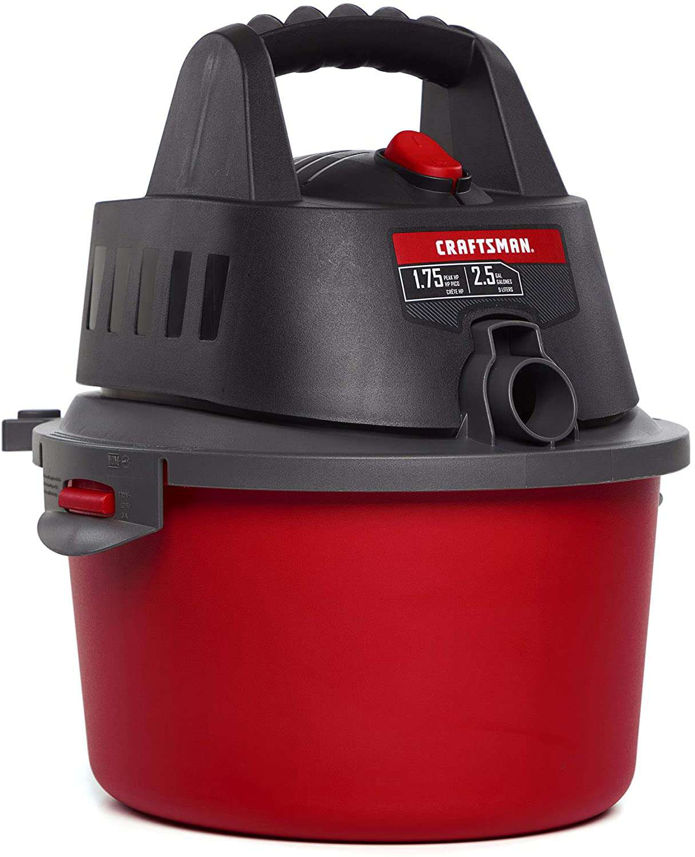 Craftsman CMXEVBE17250 2.5 Gallon Wet/Dry Vac