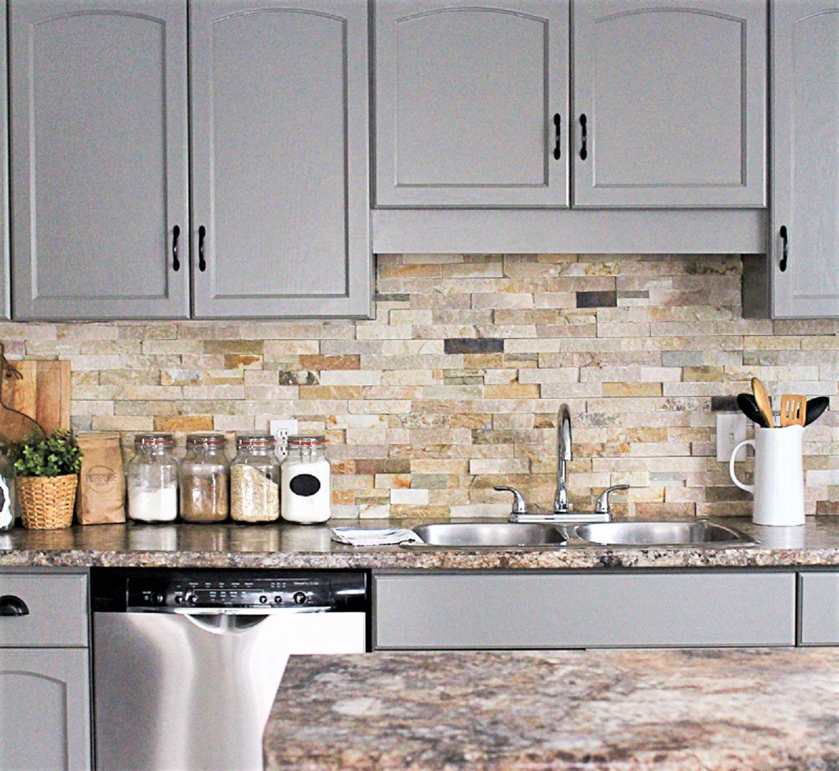 My New Favorite Way To Paint Kitchen Cabinets: Painted Kitchen Cabinet Ideas