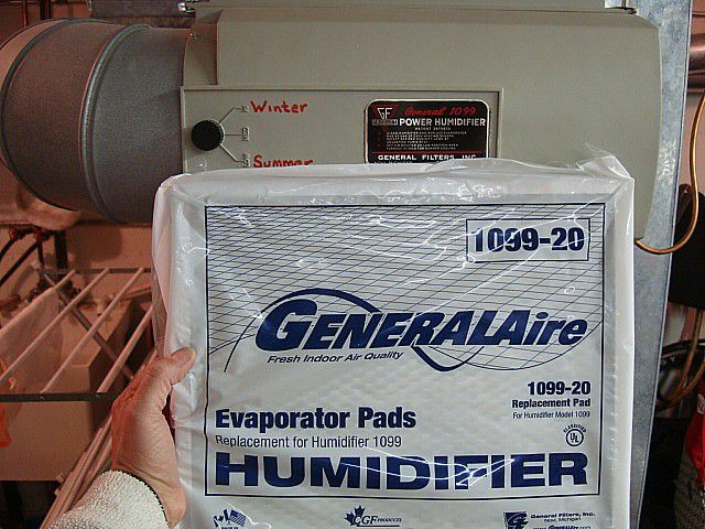 Humidifier pads