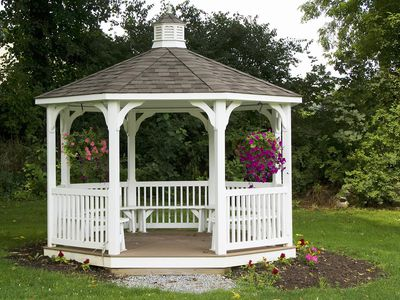 What is a Gazebo Used for in a Landscape? - What Is A Chiminea - Outdoor Fireplaces And Fire Pits