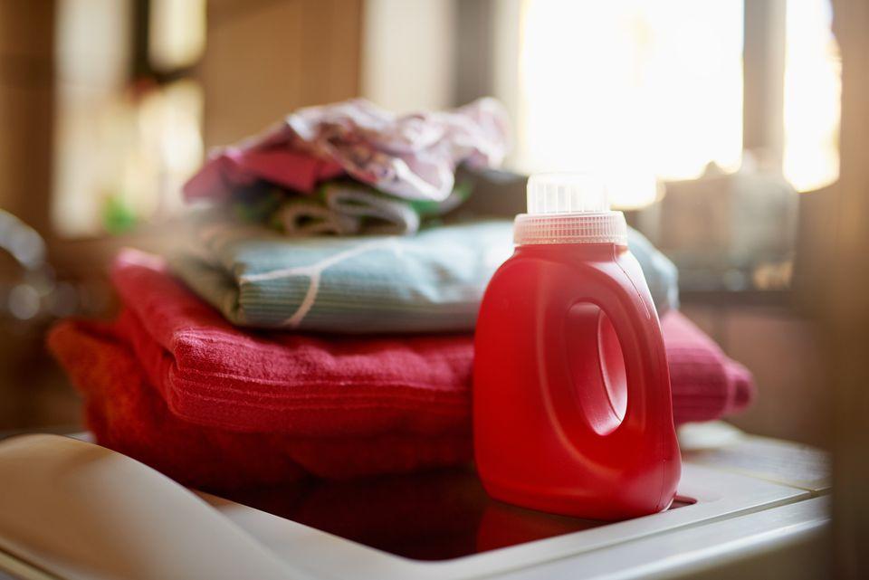 Manteniendo su ropa limpia