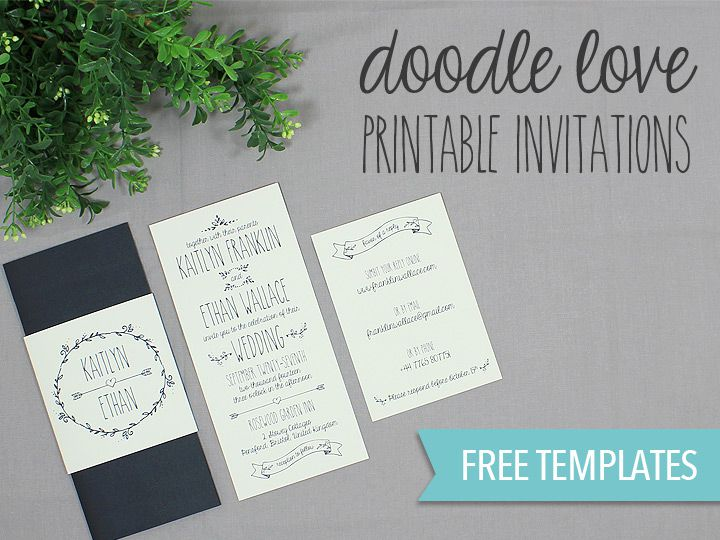 Free Wedding Invitation Printable Templates | 550 Free Wedding Invitation Templates You Can Customize