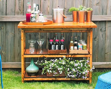 Strange 10 Diy Wood Bar Carts Download Free Architecture Designs Photstoregrimeyleaguecom