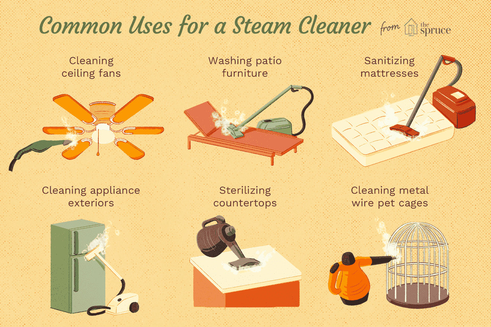 uses for a steam cleaner