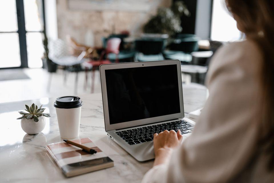 preparándose para un curso en línea