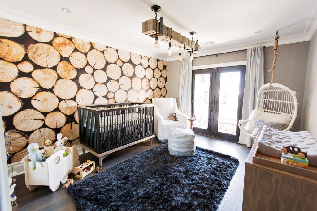 Modern Lumberjack nursery