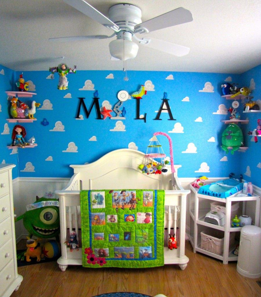 Pixar-themed nursery