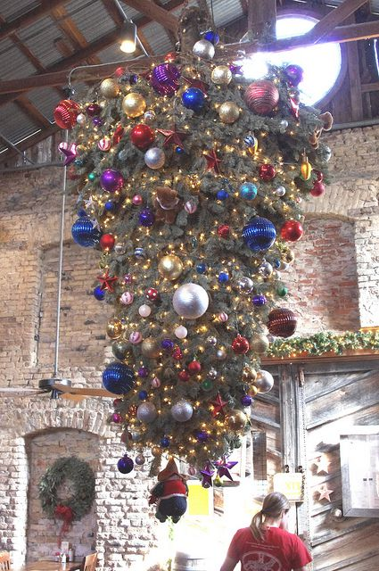 upside down christmas tree - Origin Of Christmas Tree