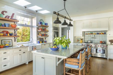 37 Colorful Kitchens To Brighten Your Cooking Space - Colorful-kitchen-design