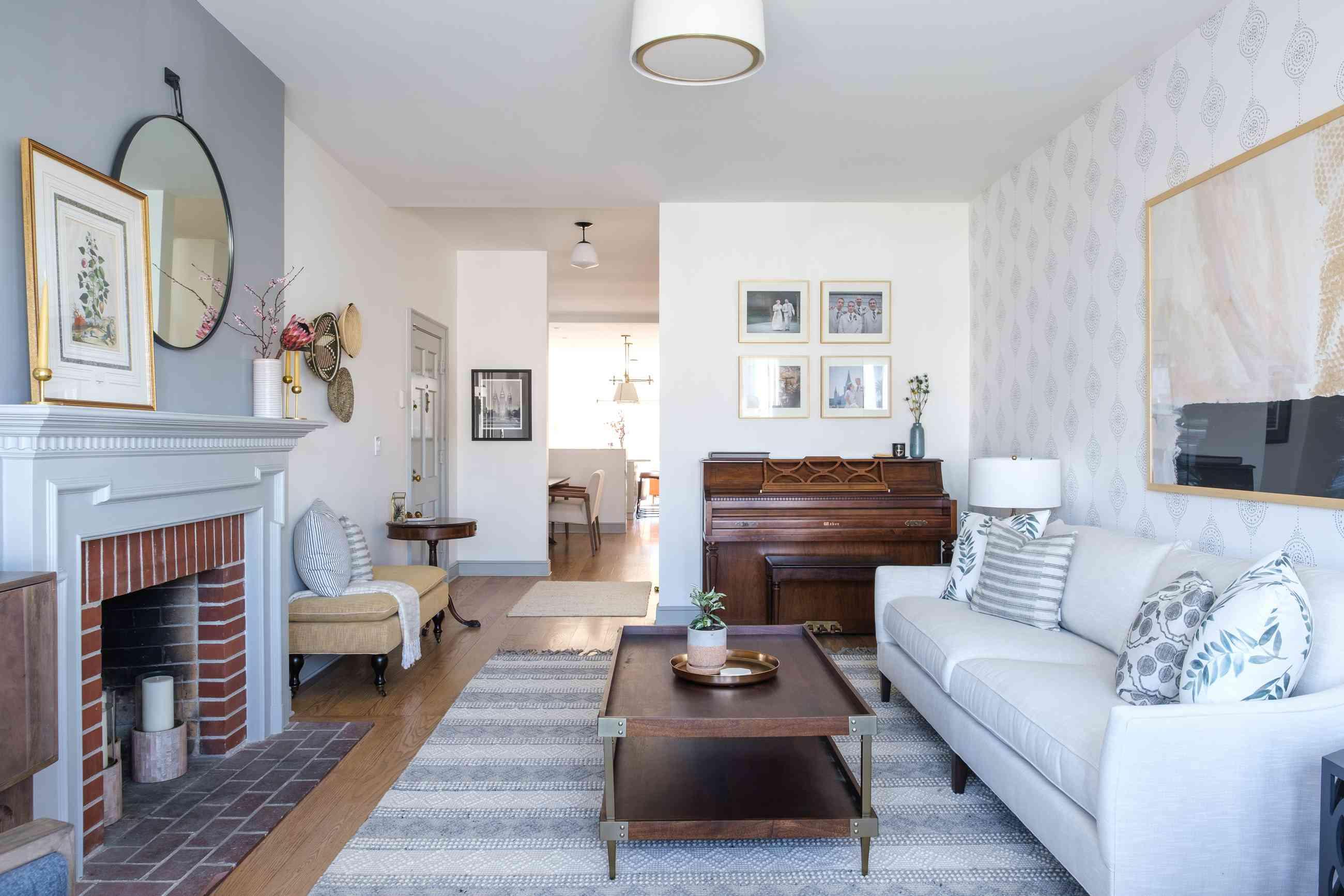 renovación de la tripa nueva adición de la sala de estar