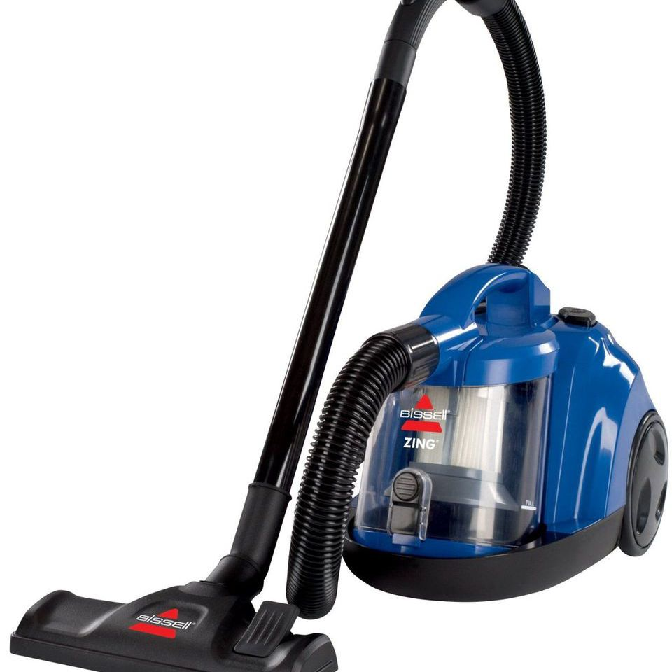 Best Budget Canister Vacuum: BISSELL Zing Rewind Bagless Canister Vacuum