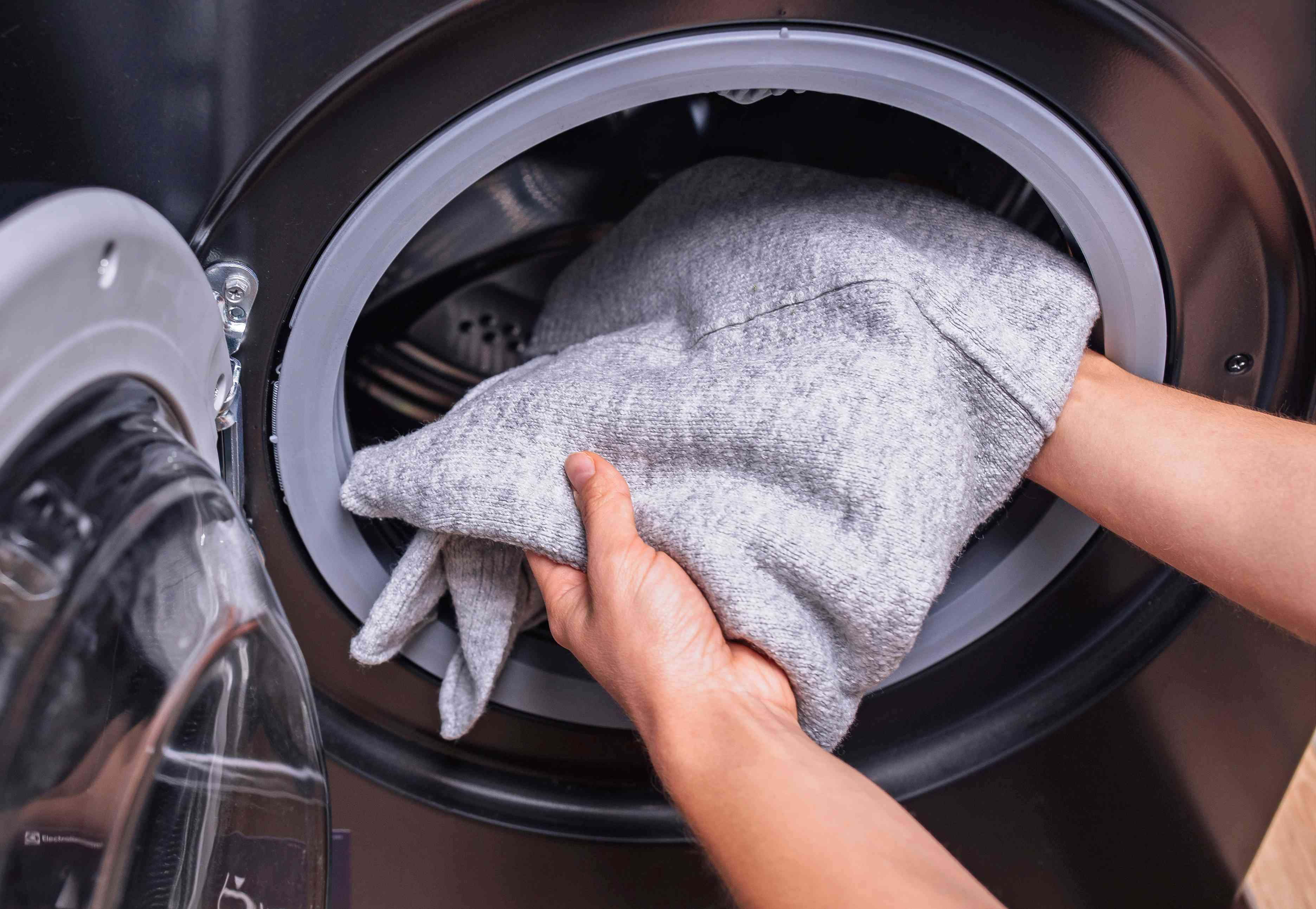 laundering the item as usual