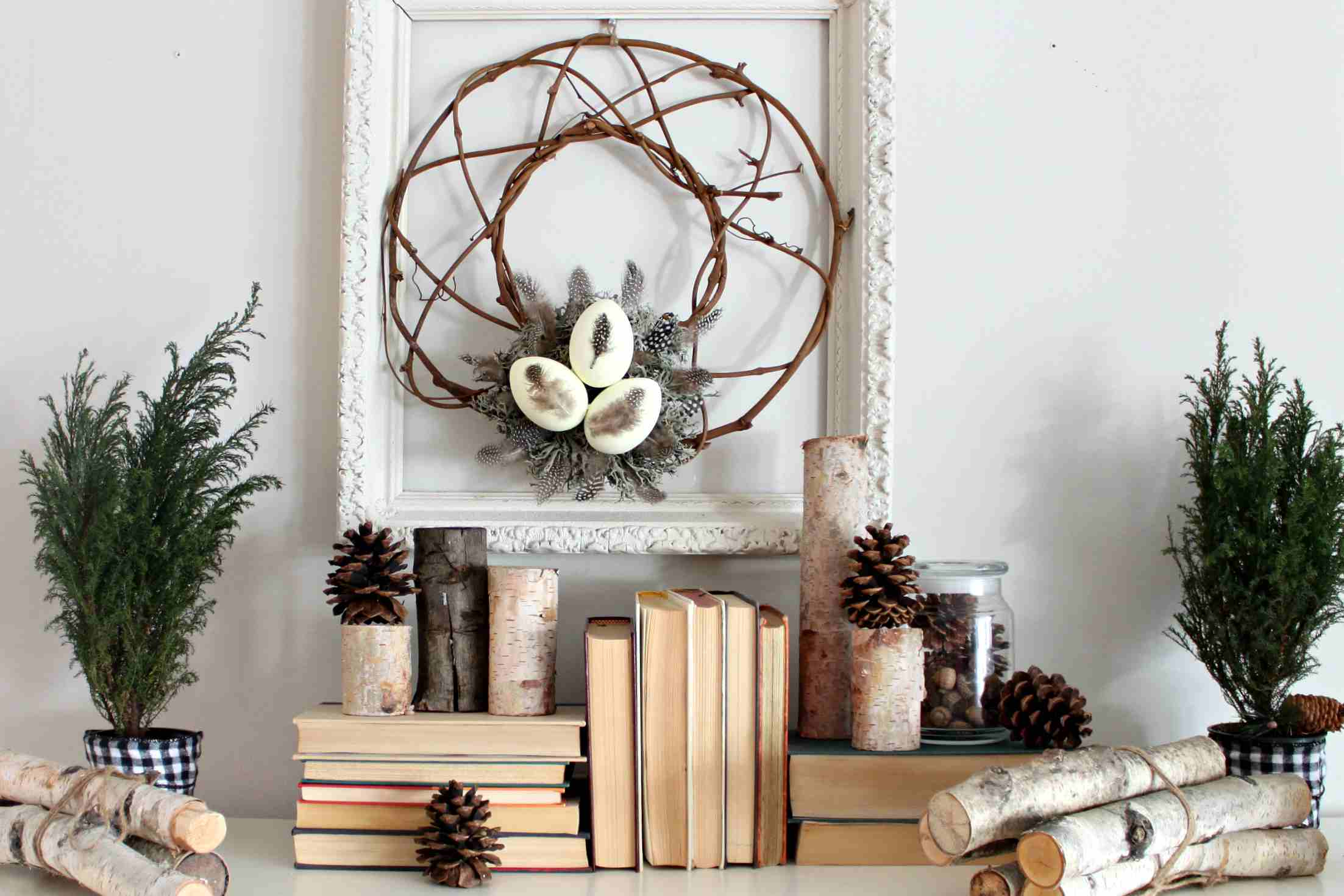 27 best winter mantel decor ideas