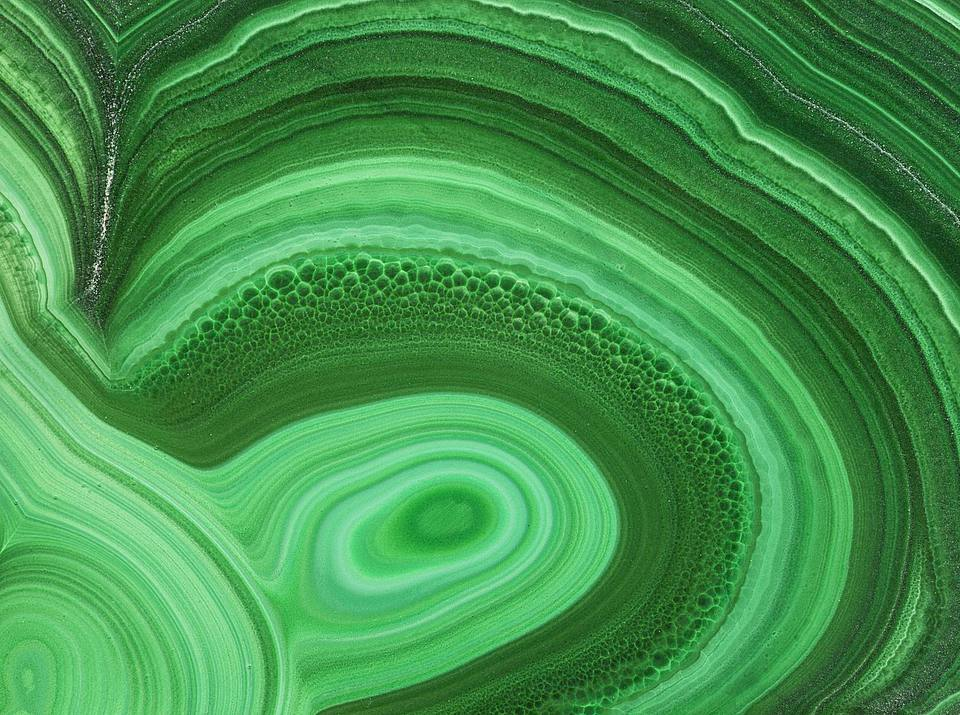 Feng shui use of malachite