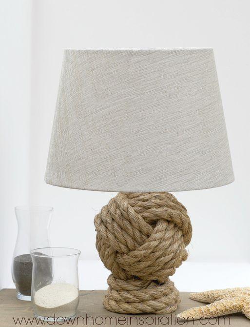 lámpara de cuerda náutica