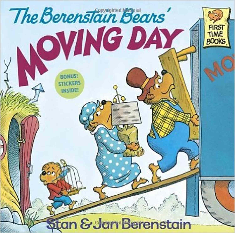 Portada del libro de Berenstain Bears Moving Day