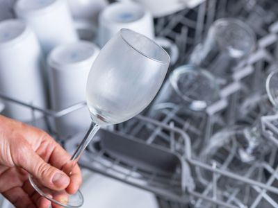 cloudy glass coming out of the dishwasher