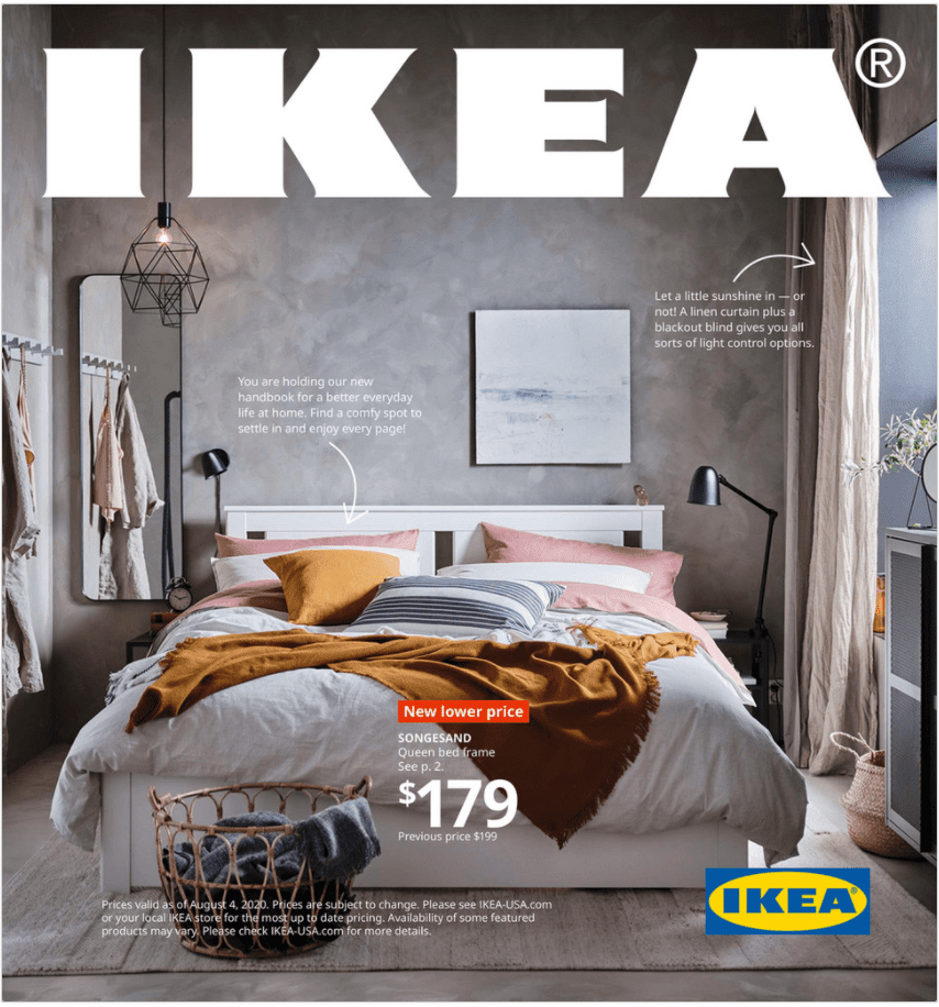 The cover of the IKEA 2021 catalog