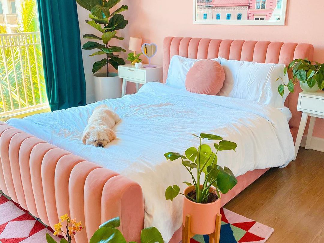 16 Pink Bedrooms For Your Next Makeover
