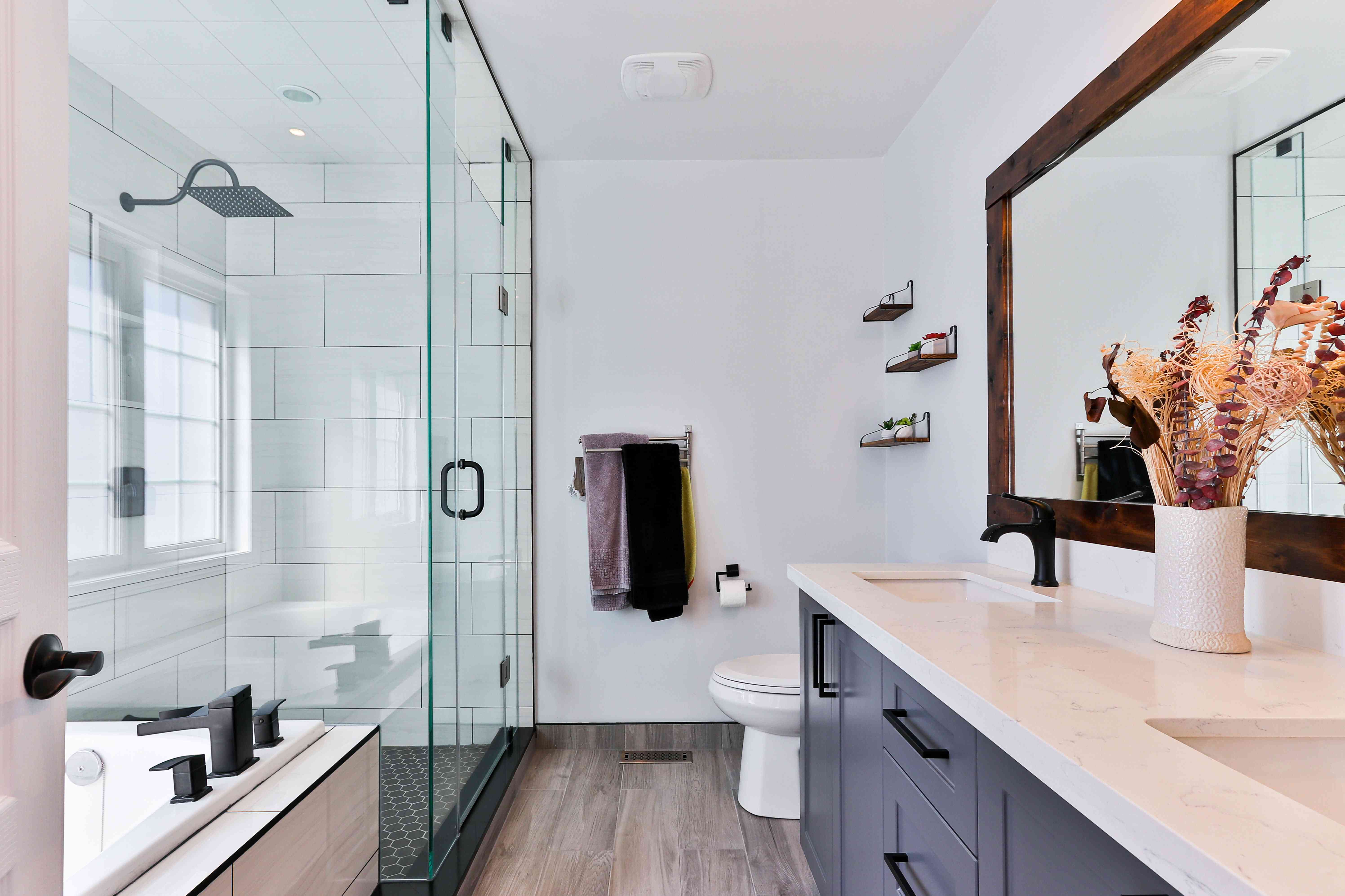 Luxury shower