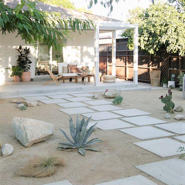 Backyard Oasis Makeover - After